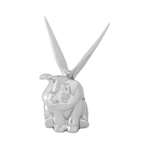 GG Grand General 48200 Chrome Smiley Pig with Wings...