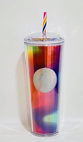 Starbucks 2021 Summer Rainbow Kaleidoscope 24oz Venti...