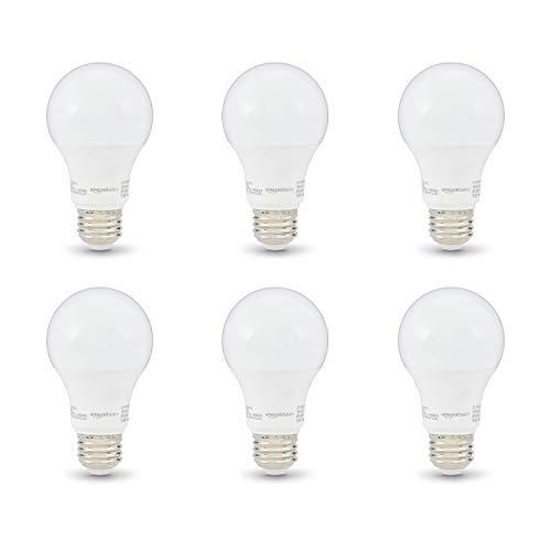 Amazon Basics 40W Equivalent, Soft White, Non-Dimmable,...