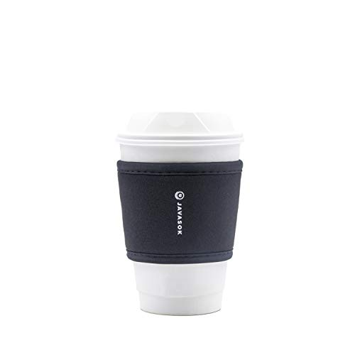 Sok It Reusable Neoprene Insulator Sleeve for Hot Coffee and...