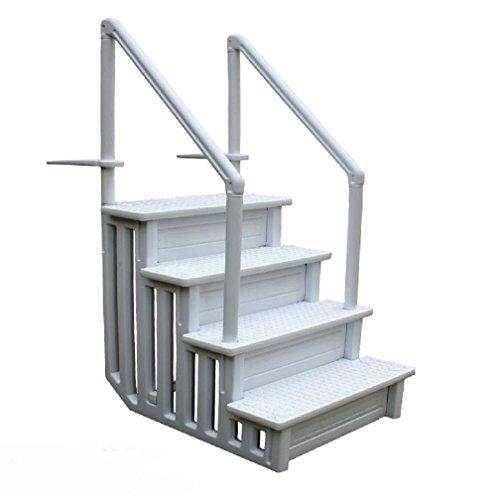 JDM Auto Lights Swimming Pool Ladder Heavy Duty Step System...