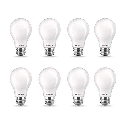 Philips LED Flicker-Free A19 Light Bulb, Dimmable Warm...