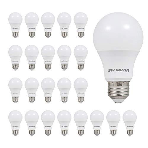 LEDVANCE SYLVANIA 74765 A19 LED Light Bulb, 60W...