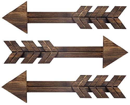 Dahey Rustic Wood Arrow Sign Wall Decor, 15' X 4'...