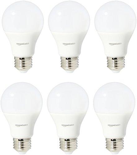 Amazon Basics 60 Watt Equivalent, Soft White,...