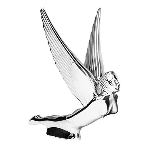 GG Grand General 48110 Chrome Flying Goddess Hood Ornament