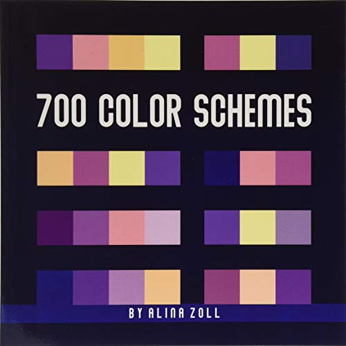 700 Color Schemes: 8.5 x 8.5 Reference Book for...