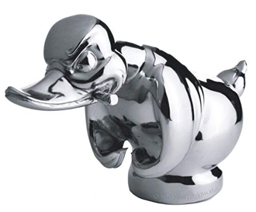 Chrome Convoy Duck Hood Ornament - Made in USA - Authentic