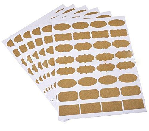 6 Sheets(192PCS)Assorted Shaped Multipurpose Self...