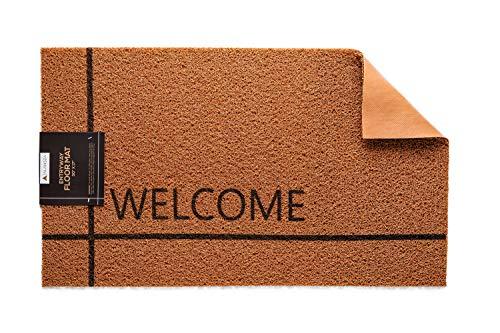 17Wx30L Inches Front Door Mat | Welcome Rug for Indoor...