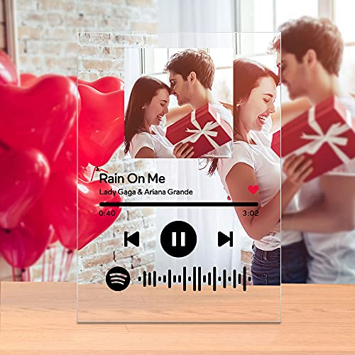 Custom Song Album Cover Scannable Spotify Code Music Plaque...