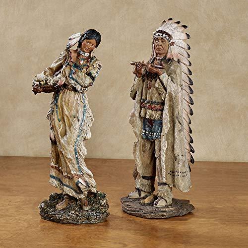 Majestic Tradition Native American Figurines Multi...