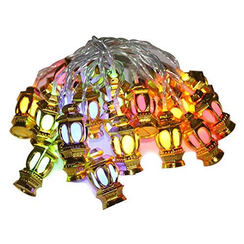 Wowu Ramadan Eid String Lights 20 LEDs Creative String...