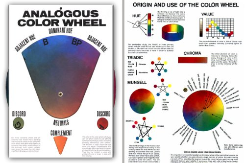 Hal Reed's Analogous Color Wheel, Dominant Hue & It's...
