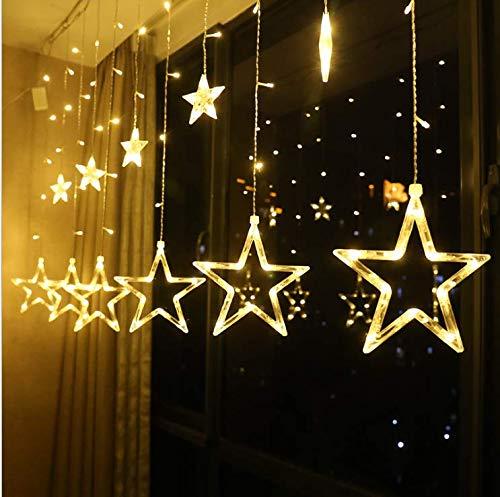 12 Stars 138 led Star Lights, Twinkle Star Decorations,...