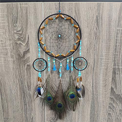 Meticci Dream Catcher Handmade Traditional Peacock...