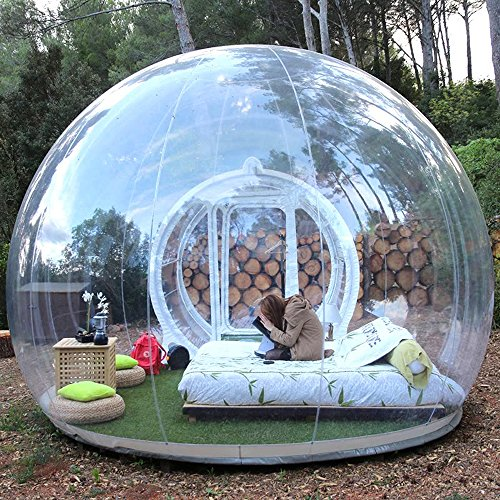 HHAiNi Outdoor Transparent Single Tunnel Inflatable...