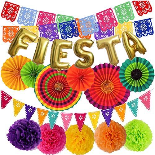 Mexican Fiesta Party Decorations – Cinco De Mayo - 6...
