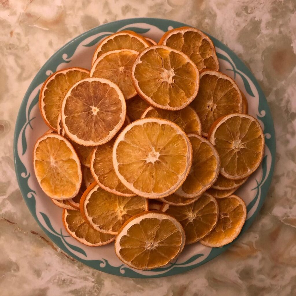Dried Oranges Decoration for Christmas Decorations