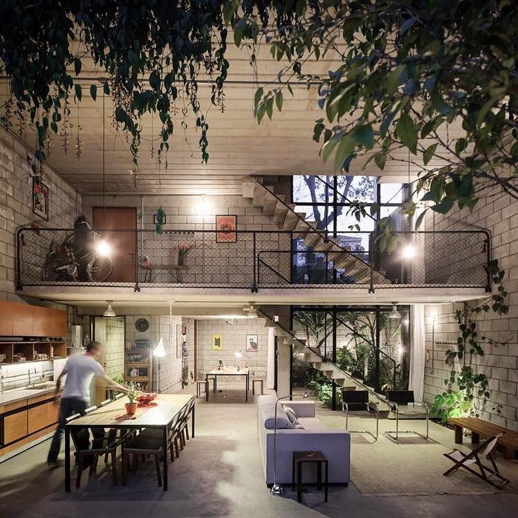House goals. #architecture #openplanliving #housedesign #designporn