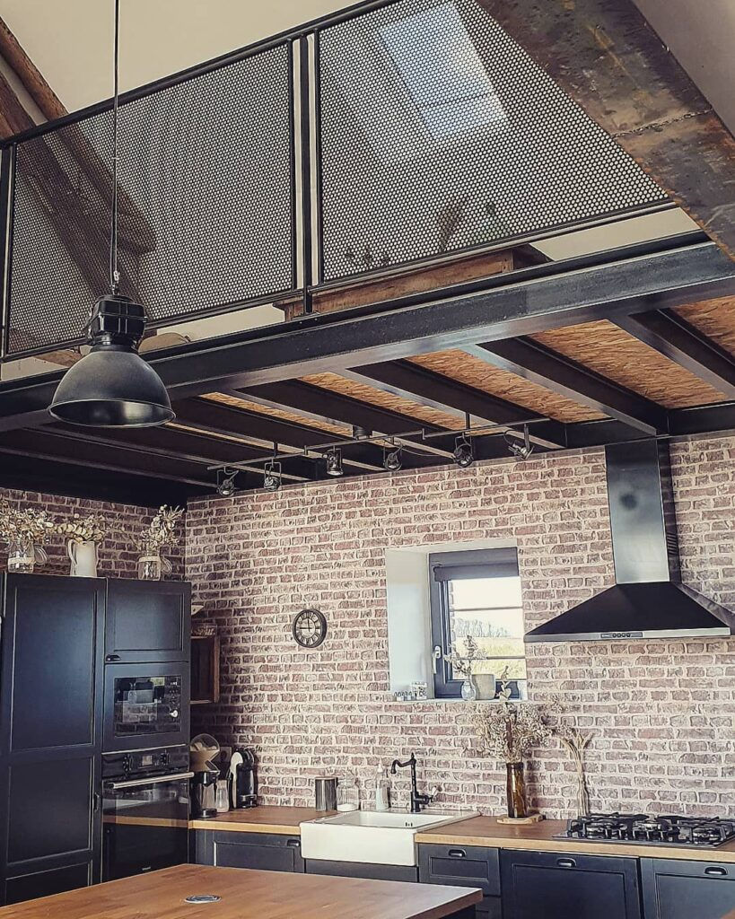 mezzanine kitchen