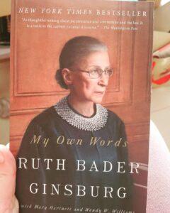 RUTH BADER GINSBURG svg