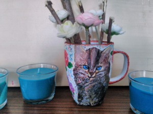 Painting Glass with Acrylic Paint