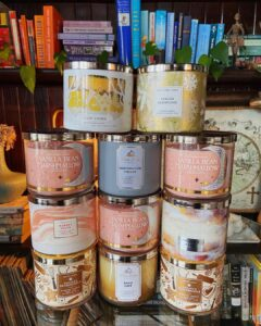 most popular bath and body works candles