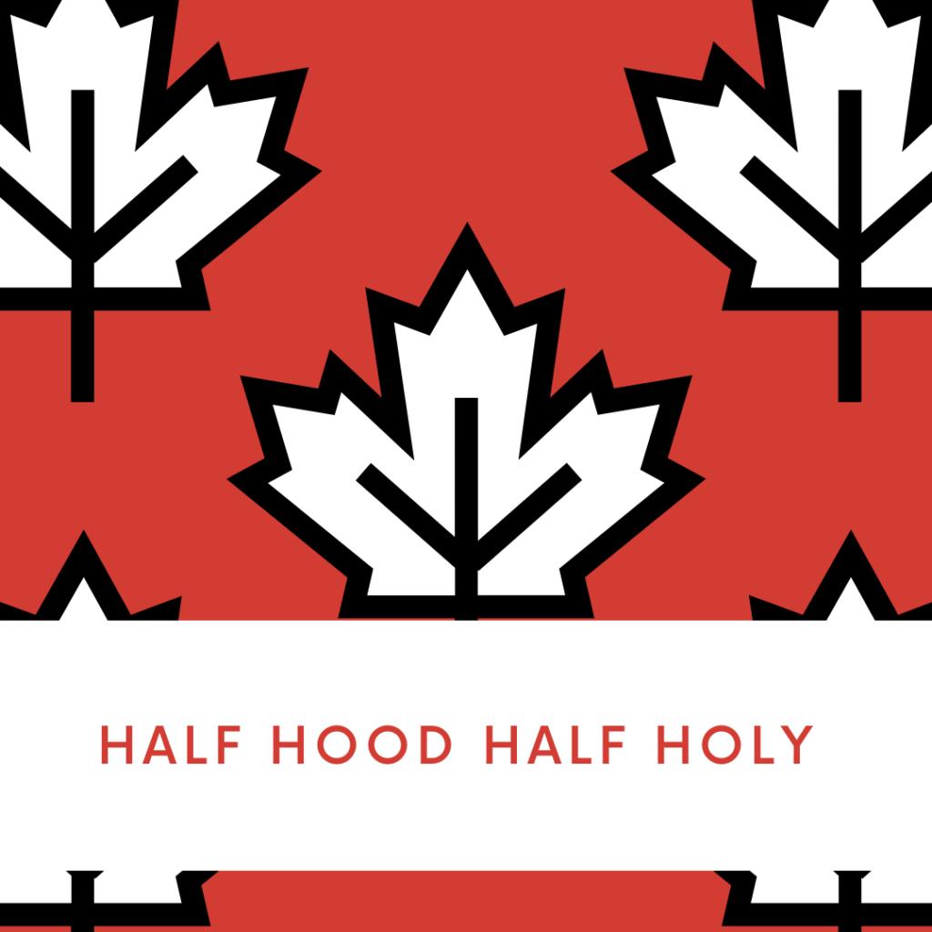 Half hood half holy svg