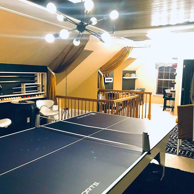 game room attic designs