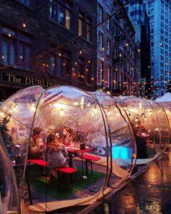 best inflatable bubble tent