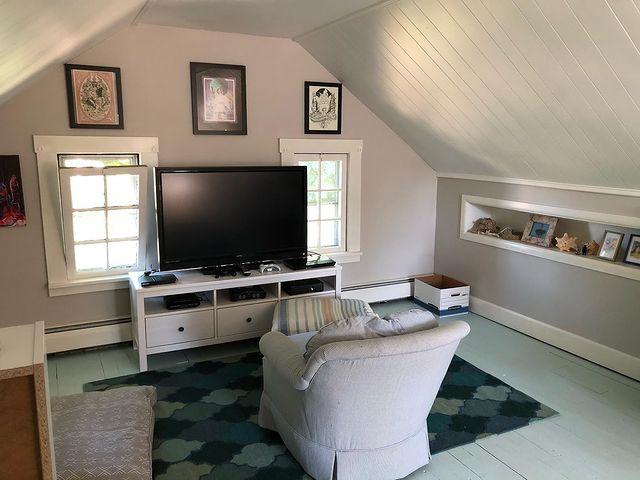 garage attic game room