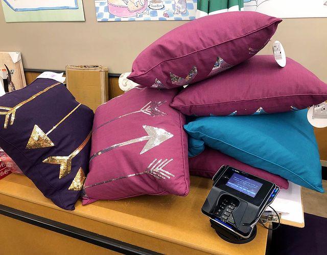 arrow decor pillows