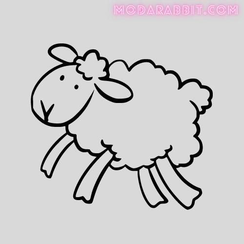 lamb crafts with cotton balls