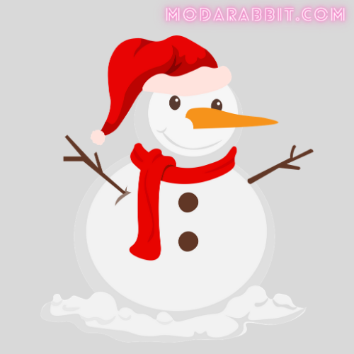 snowman crafts with cotton balls