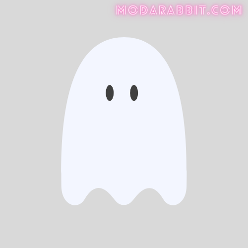 Ghost crafts with cotton balls